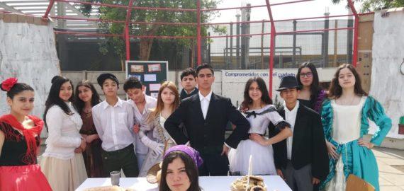 Tertulia y Chingana 8º Básicos