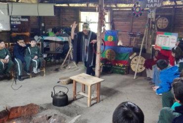 Ruka de la Asociación Inche Tañi Mapu
