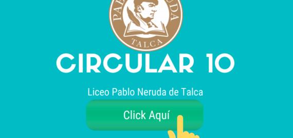 Circular 10 – FUNCIONAMIENTO MES MAYO 2020
