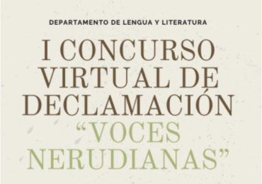 BASES PARA EL I CONCURSO VIRTUAL DE DECLAMACIÓN